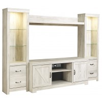 Bellaby - Bellaby 4-Piece Entertainment Center