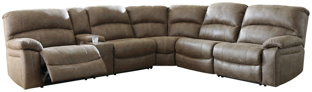 Segburg - 4-Piece Power Reclining Sectional