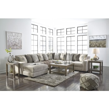 Ardsley - Ardsley 5-Piece Sectional with Chaise