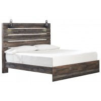 Drystan - King Panel Bed