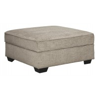 Bovarian - Stone - Ottoman With Storage