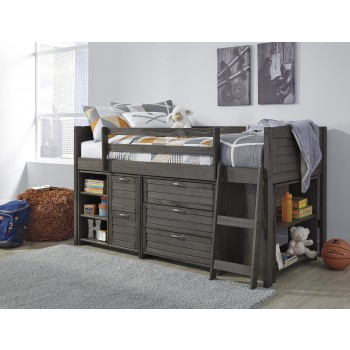 Caitbrook - Caitbrook Twin Loft Bed with Storage