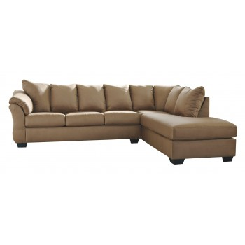 Darcy 2-Piece Sectional with Sleeper