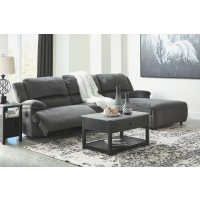 Clonmel - 3-Piece Reclining Sectional with Chaise