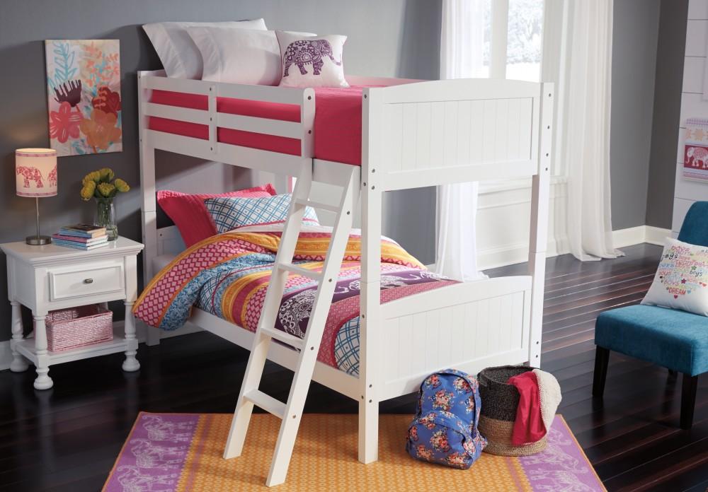 Kaslyn Kaslyn Twin Over Twin Bunk Bed B502b15 B50259p