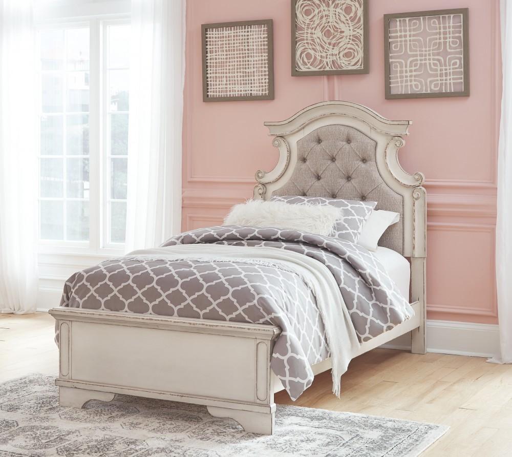 Realyn Twin Panel Bed B743b13 B74352 B74353 B74383