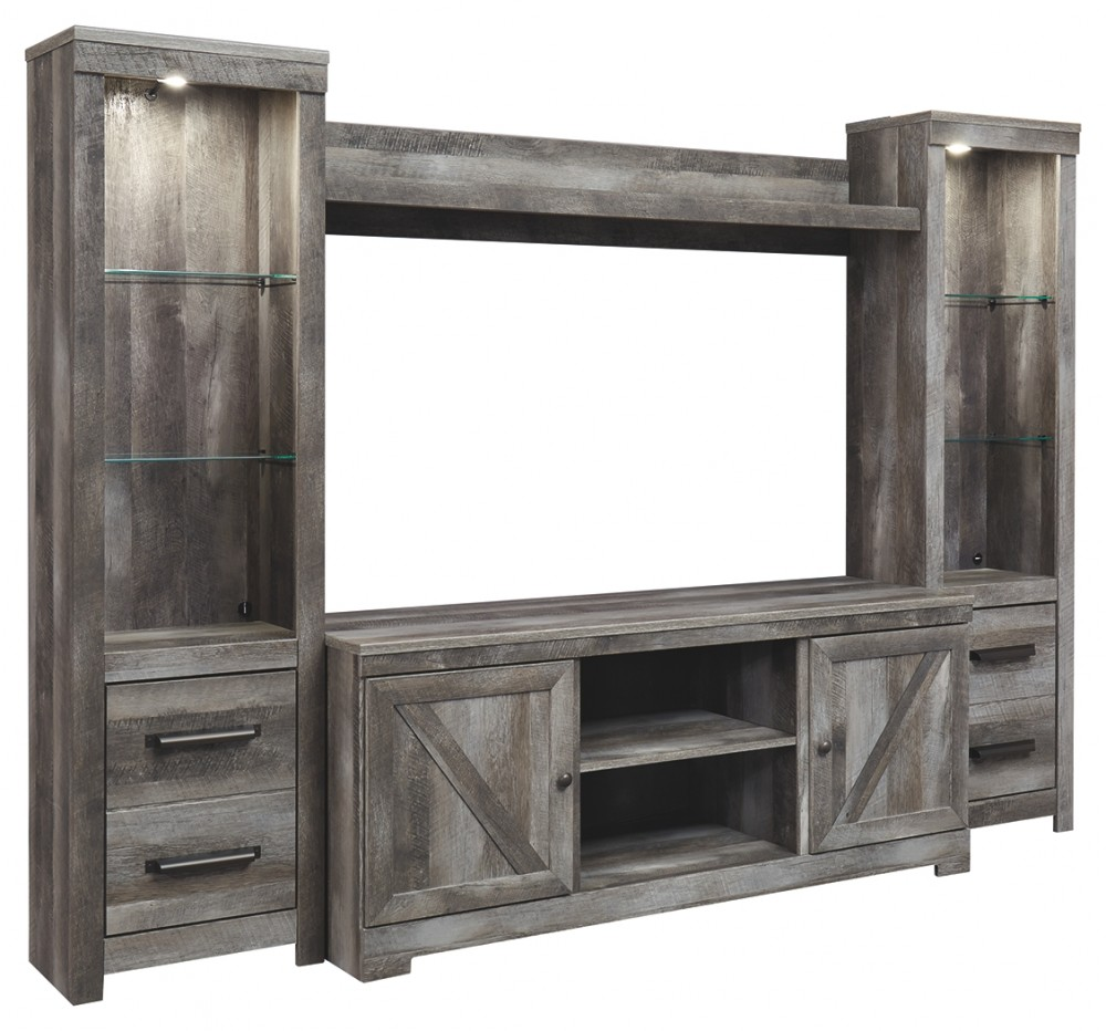 Wynnlow - Wynnlow 4-Piece Entertainment Center