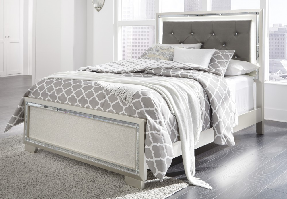 Lonnix Full Panel Bed B410b3 84 86 87 Complete Beds Furniture World Superstore