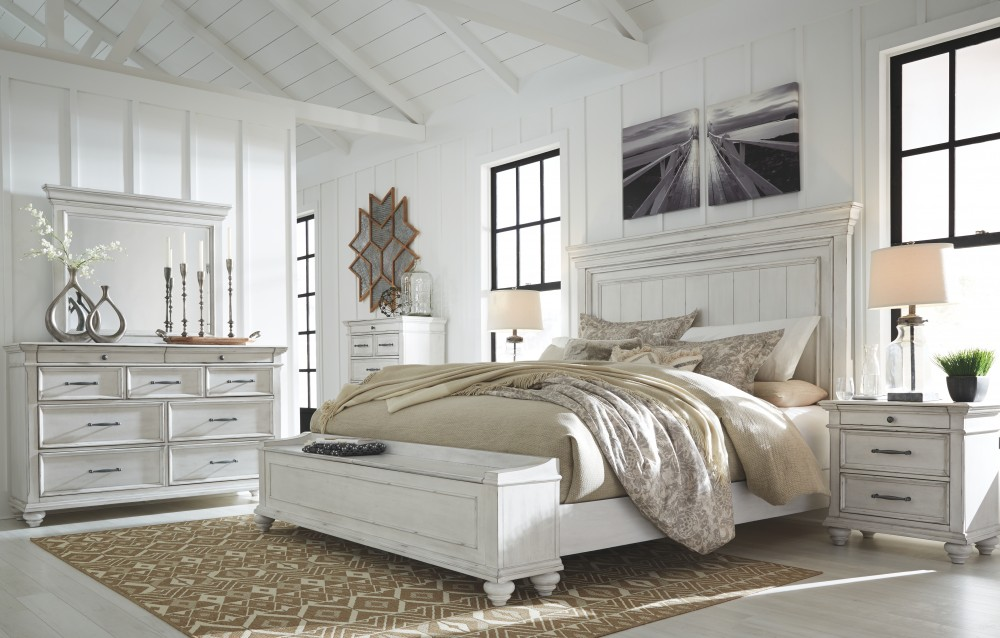 Kanwyn Queen Panel Bed with Storage