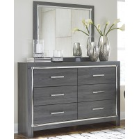 Lodanna - Lodanna Dresser and Mirror