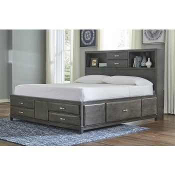 Caitbrook - Caitbrook Queen Storage Bed