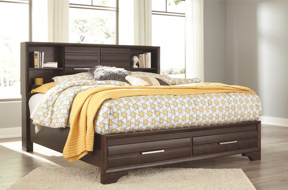 Andriel california king storage bed b609b7 82 94 - California king storage bedroom sets ...