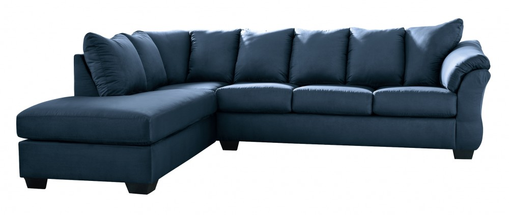 Darcy - 2-Piece Sectional with Chaise and Sleeper