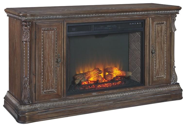 Charmond Charmond 64 Tv Stand With Electric Fireplace W803w3