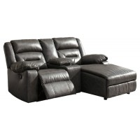 Coahoma - Coahoma 3-Piece Reclining Sectional with Chaise