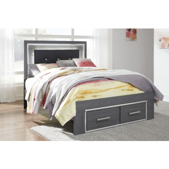 Lodanna - Lodanna Full Panel Bed with Storage