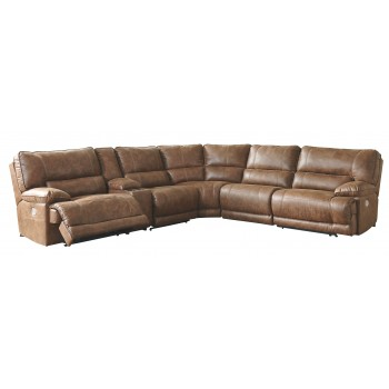 Thurles - Thurles 6-Piece Reclining Sectional with Power