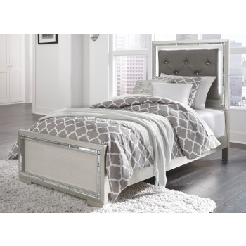 Lonnix - Lonnix Twin Panel Bed