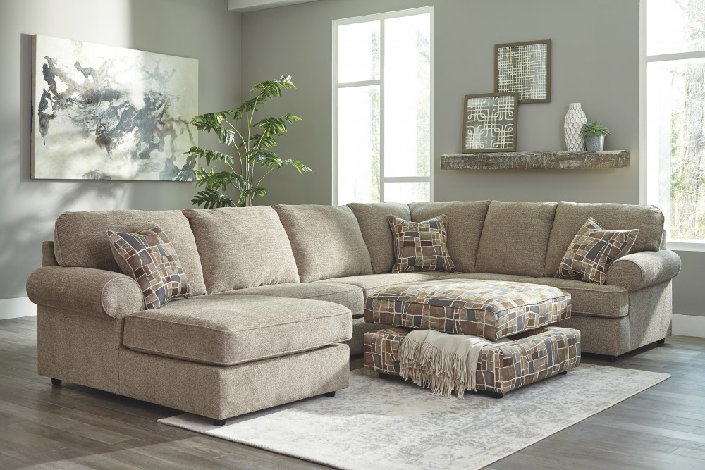 Fultrim 3-Piece Sectional with Chaise