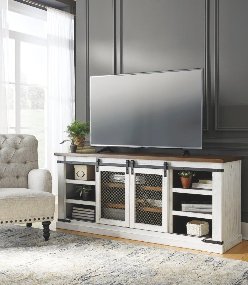 Ashley Furniture In Macon Ga: Wystfield - White/Brown - Array
