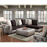 Shimmer Pewter Sectional