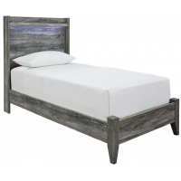 Baystorm - Twin Panel Bed