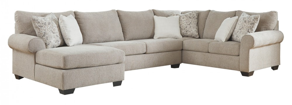 Baranello - Baranello 3-Piece Sectional with Chaise