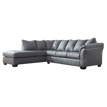Swell Darcy 2 Piece Sectional With Chaise And Sleeper Gmtry Best Dining Table And Chair Ideas Images Gmtryco