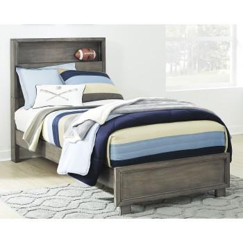 Arnett - Twin Bookcase Bed