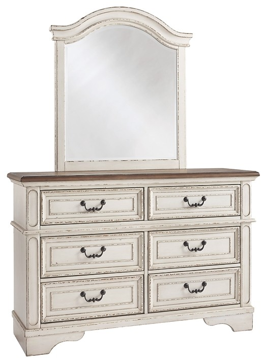 Realyn - Dresser and Mirror