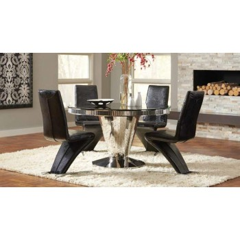 Barzini Table & 4 Chairs