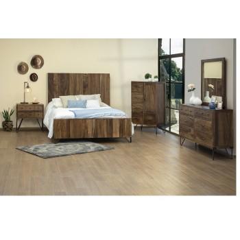 Taos IFD860-HDBDQN/PLTFQN Queen Bed