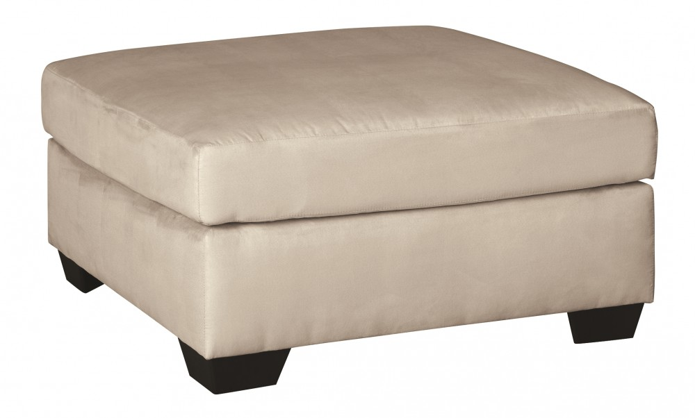 Darcy - Stone - Oversized Accent Ottoman