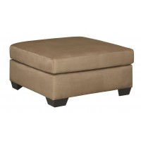 Darcy - Mocha - Oversized Accent Ottoman