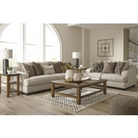 Marciana - Bisque - Sofa & Loveseat