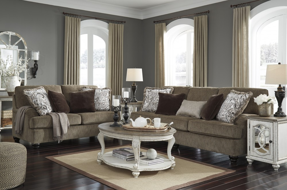 Braemar - Brown - Sofa & Loveseat
