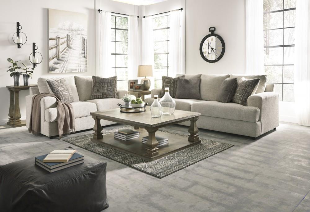 Soletren - Stone - Sofa & Loveseat | 95104/38/35 | Living ...