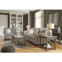 Alandari - Gray - Sofa & Loveseat