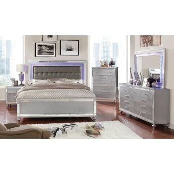Brachium Mirrored 7PC Bedroom