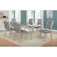 Soho Mirrored ext. Table & 4 Chairs