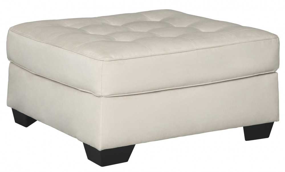 Filone - Ivory - Oversized Accent Ottoman
