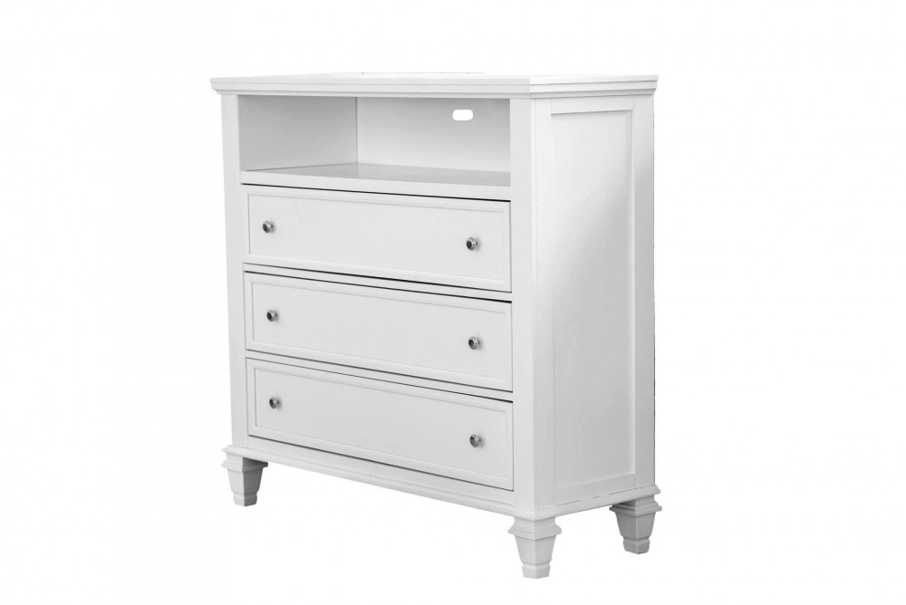 Ainsley Dove Grey 3520-50 TV Chest