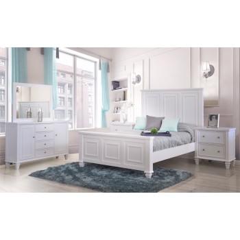Ainsley Dove Grey 4-Piece Bedroom Set