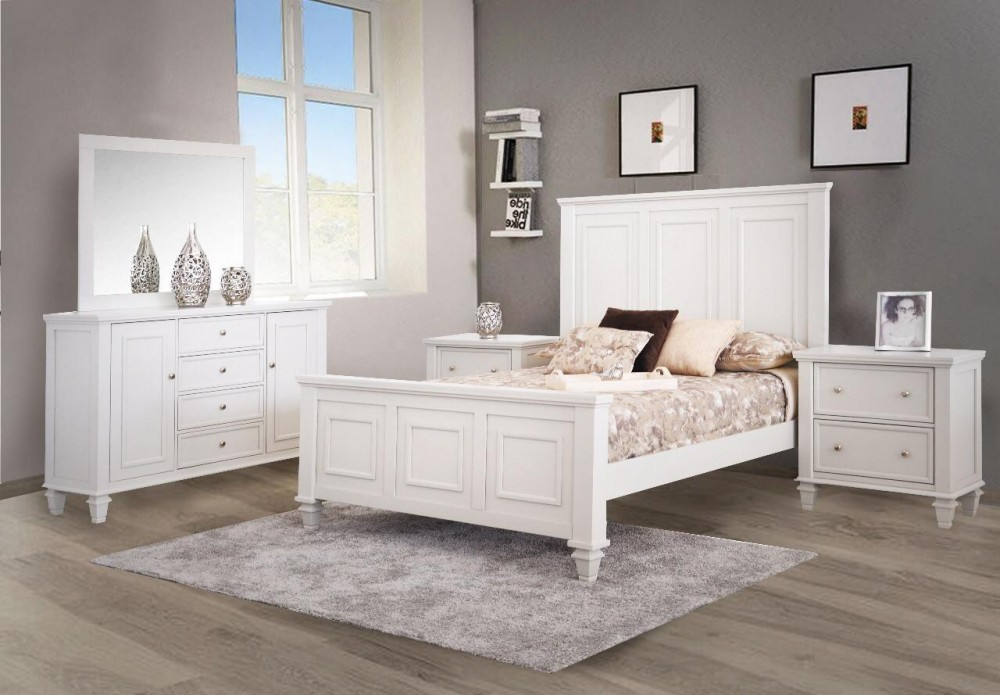 Ainsley White 4-Piece Bedroom Set