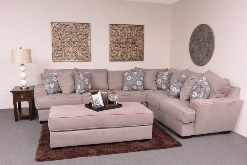 Renegade 2-Piece Sectional (Anello Cement) (RFTS/LFS)