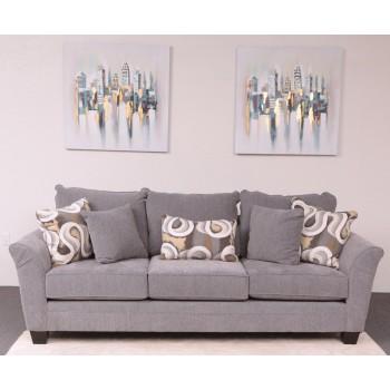Rogue Sofa (Watson Platinum)