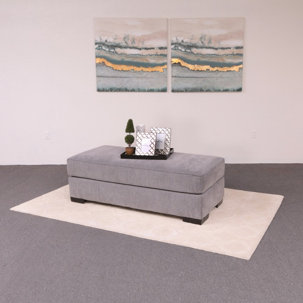 Fantastic Stacia Ottoman Watson Platinum Ocoug Best Dining Table And Chair Ideas Images Ocougorg