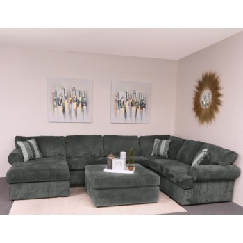 Sonoma 3-Piece Sectional (Haskell Charcoal) (LFC/AL/RFTS)