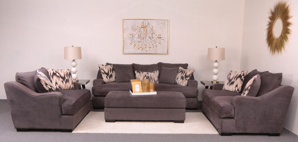 Marvelous Spartan 4 Piece Livingroom Firefly Flannel Gamerscity Chair Design For Home Gamerscityorg