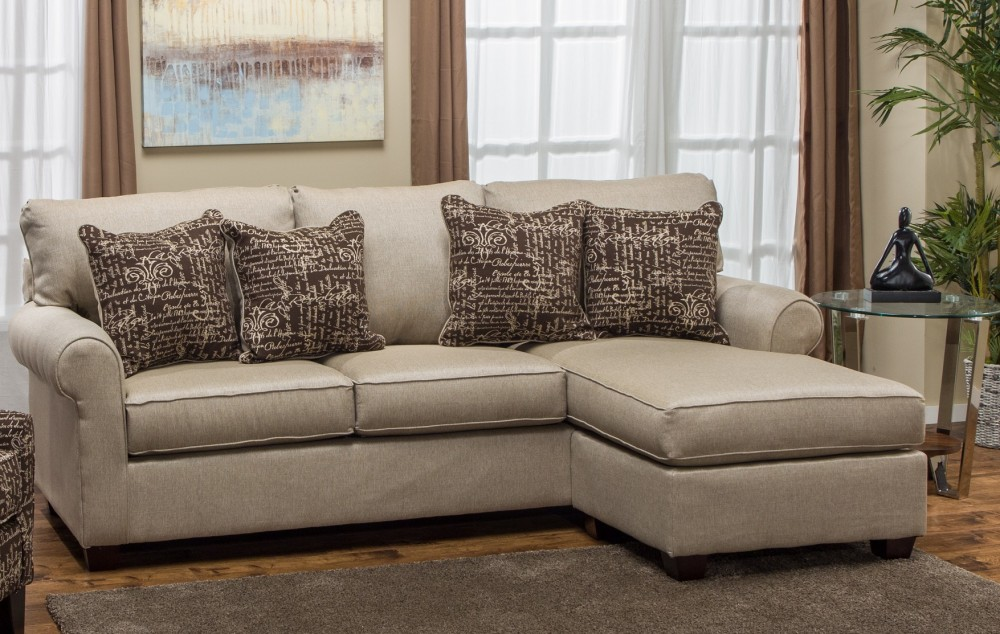 Pacific Beach Sofa Chaise (Stoked Khaki)